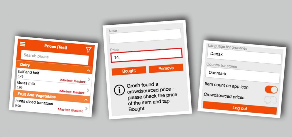 crowdsourced grocery prices