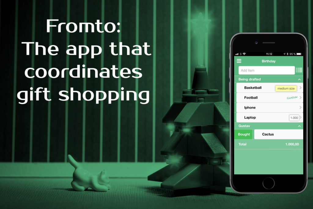 Fromto App Coordinates Gift Shopping