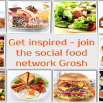 Get inspired - join the social food network Grosh