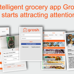 Intelligent grocery app Grosh starts attracting attention