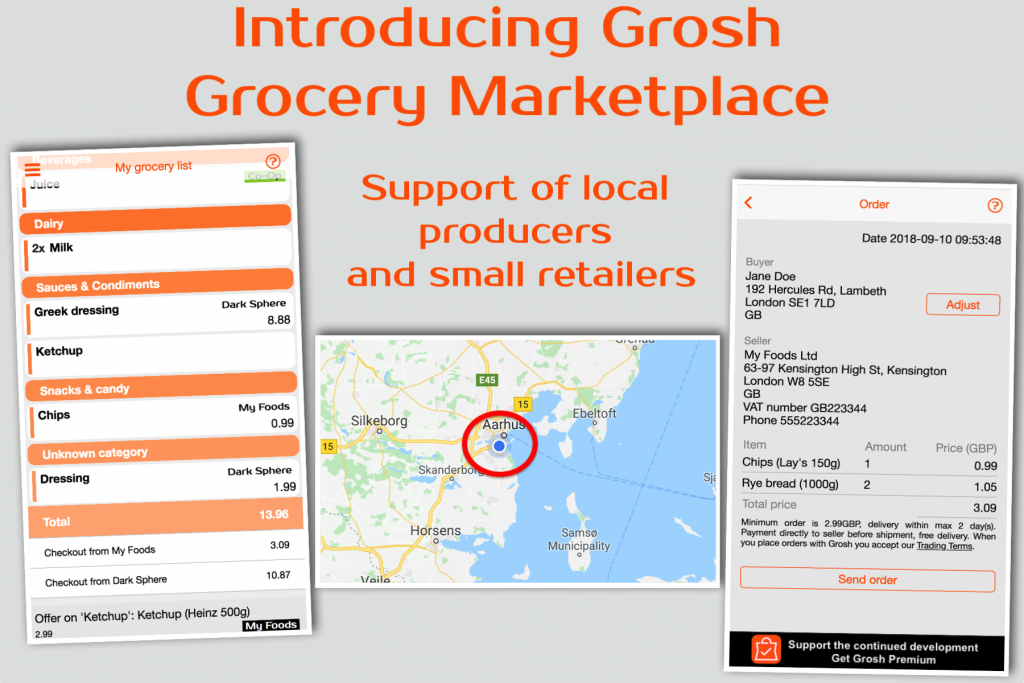grocery marketplace