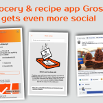 Grocery & recipe app Grosh gets even more social