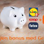 Bonus med Grosh i Lidl (Danish)