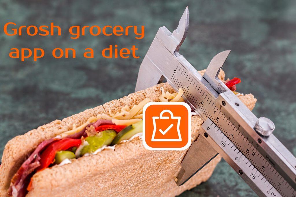 grocery app diet